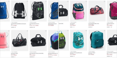 Under Armour : Under Armour Bags Just As Low As $11.99!!