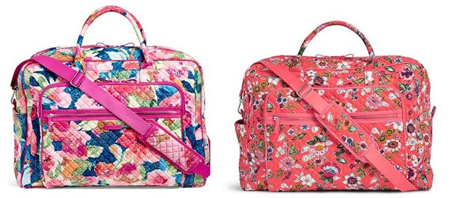 RUN! Vera Bradley Backpacks & Travel Bags Up to 75% Off + FREE Shipping (Today Only!)