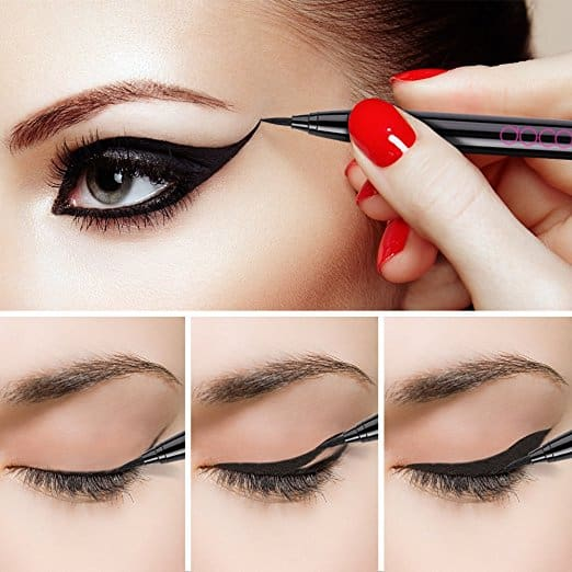 Amazon : Waterproof Eyeliner Pen Super Slim Liquid Eyeliner Eye Liner Gel Black Just $0.02 W/Code = 5% Off Coupon (Reg : $6.99)(As of 4/20/2019 8.11 PM CDT)
