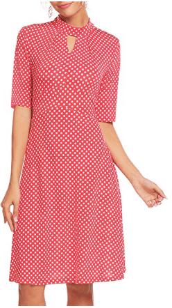 Amazon : Women's Vintage Polka Dot Retro Cocktail Swing Tea Dress Just $6.20 W/Code (Reg : $20.99) (As of 4/13/2019 7.33 AM CDT)