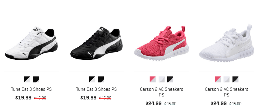 PUMA : Puma Private Sale : Extra 70% Off Sale Items + Free Shipping!!