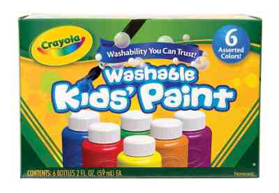 Crayola 6 Count Washable Kids Paint Set for Only $4.27!