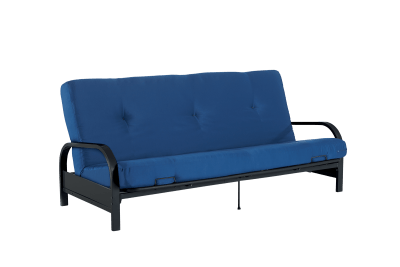 Mainstays Black Metal Arm Futon with Full-Size Mattress Only $124.99 Shipped!