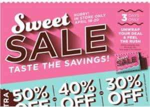 FREE Chocolate Bar & Coupon at JCPenney
