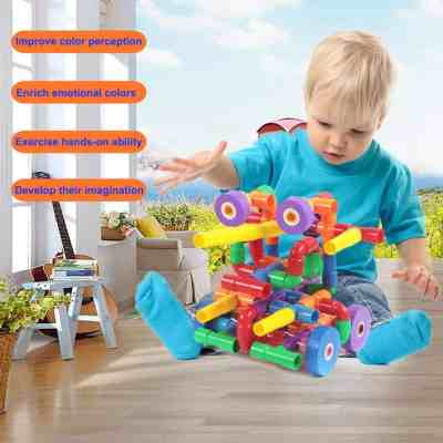 Amazon : 156pcs Colorful Mixed Color Water Pipes Building Blocks Just $8.99 W/Code (Reg : $20.59) (As of 5/19/2019 7.26 PM CDT)