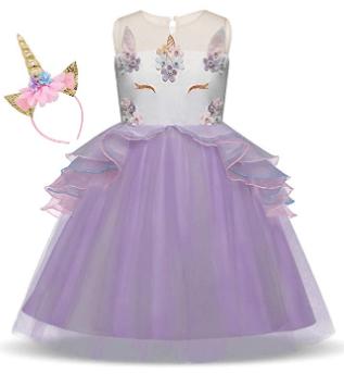 Amazon : Girls Unicorn Dress up Fancy Costume Just $13.49 W/Code (Reg : $47.20) (As of 5/24/2019 5.44 PM CDT)