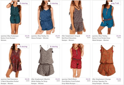 Zulily : SALE - $14.99 (Reg $42.00+) Aller Simplement Rompers !!