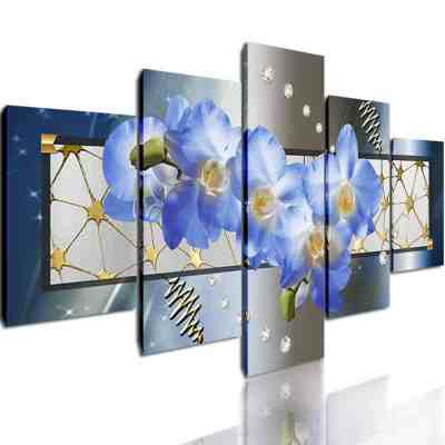 Amazon : Canvas Prints Wall Decor Artworks 5pcs Just $23.40 W/Code (Reg : $51.99) (As of 5/20/2019 8.56 PM CDT)