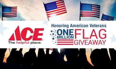 Ace Hardware: FREE American Flag (May 25th)
