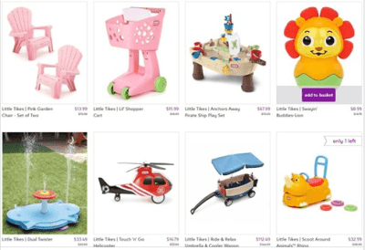 Zulily : ‼SALE‼ AS LOW AS $6.99 Little Tikes Toys !!