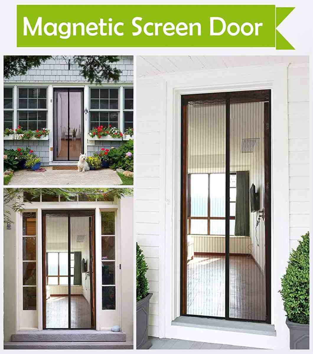 Amazon : Magnetic Screen Door Just $7.59 W/Code (Reg : $18.99) (As of 5/22/2019 4.50 PM CDT)