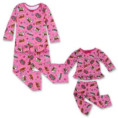 Amazon : Matching Doll Pajamas for Girls and 18 Inch Dolls Just $12.39 W/20% Off Coupon (Reg : $24.99) (As of 5/20/2019 4.35 PM CDT)