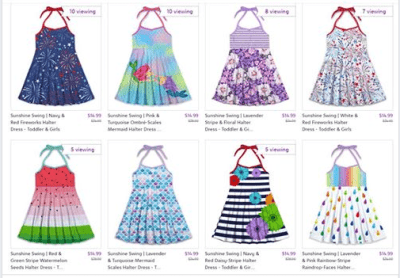 Zulily : ‼SALE‼$14.99 (Reg $24.00+) Sunshine Swing Dresses: Toddler to Big Girl