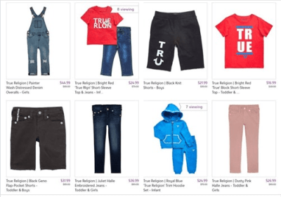 Zulily : ‼SALE‼ AS LOW AS $16.99 (Reg $35.00+) True Religion: Kids Clothing