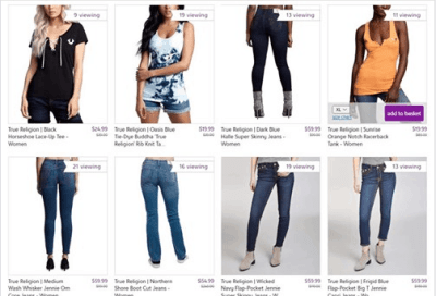 Zulily : True Religion: Women Clothing Just AS LOW AS $19.99 (Reg $39.99+)
