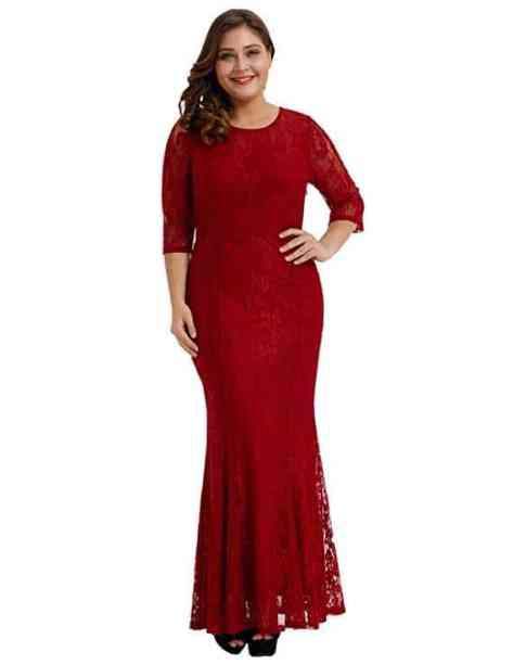 Deals Finders | Amazon : Women Plus Size Lace Ruched Empire Waist ...