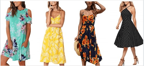 Amazon : Women Midi Dress Just $5.10-7.80 W/Code (Reg : $19.99 - $25.99) (As of 5/19/2019 11.19 AM CDT)