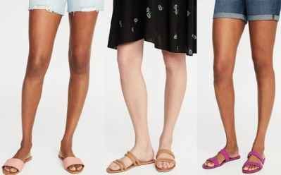 Old Navy : Women's Slides & Sandals Just $8 – $10 (Reg : $25) – Today & Online Only!