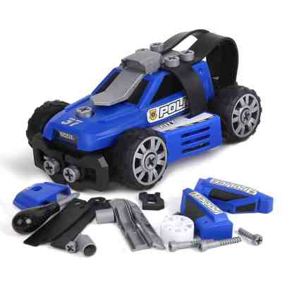 Amazon : 5-in-1 Take Apart City Police Car Toys Just $5.99 - $6.49 W/Code (Reg : $25.98) (As of 6/26/2019 2.46 PM CDT)