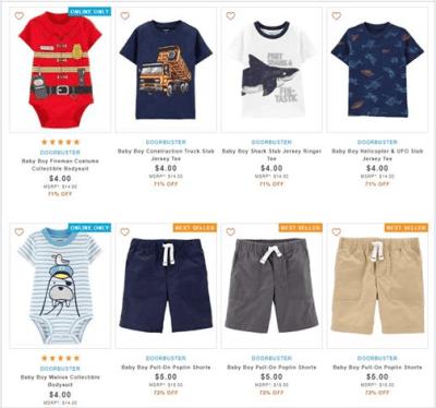 Carter's : ‼SALE‼ $4.00 (Reg $14.00+) Carters Baby Boy Clothes