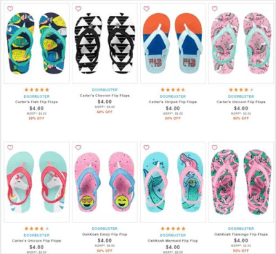 Carter's : ‼SALE‼ $4.00 (Reg $8.00) Carters Kids Flip Flops