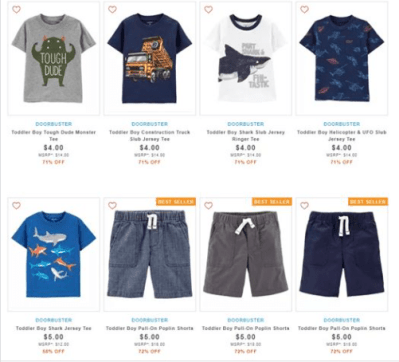 Carter's : ‼SALE‼ $4.00 (Reg $14.00+) Carters Toddlers Boys Clothes