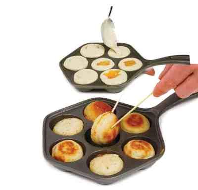 Amazon : Cast Iron Stuffed Pancake Pan Just $14.81 (Reg : $31.35) (As of 6/19/2019 7.44 PM CDT)