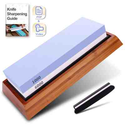 Amazon : Knife Sharpening Stone - 2 Side Just $10 W/Code (Reg : $24.99) (As of 6/26/2019 2.14 PM CDT)