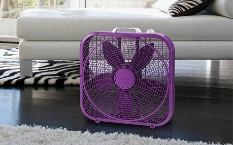 Lasko Cool Colors 20-Inch 3-Speed Box Fan JUST $18 (Regularly $25) – Three Colors!
