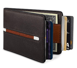 Amazon : Leather Wallet Just $5.99 W/Code (Reg : $11.99) (As of 6/19/2019 4.37 PM CDT)