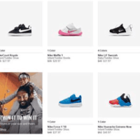 Nike Girls Footwear : SALE‼ AS LOW AS $15.73 W/Code (Reg $35+)