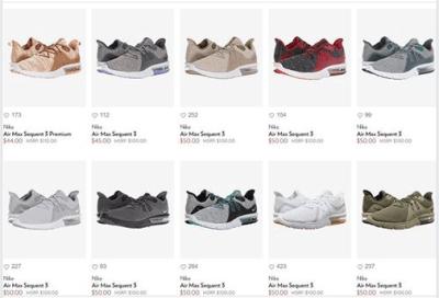 ‼️SALE‼️ AS LOW AS $44.00 (Reg $100.00+) Nike Men's Air Max Sequent Shoes