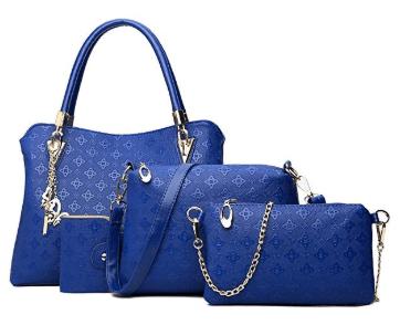 Amazon : 4 Pcs Womens Ladies Handbag Just $17.99 W/Code (Reg : $29.98) (As of 6/19/2019 5.24 PM CDT)