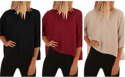 Amazon : Women's Oversized Sweaters Just $15.59 W/Code (Reg : $38.98) (As of 6/17/2019 5.56 PM CDT)