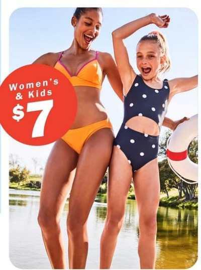 Old Navy – Swimwear for Everyone from $7