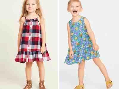 OLDNAVY : Women's, Girl's, Toddler & Baby Girl's Dresses as Low as $5
