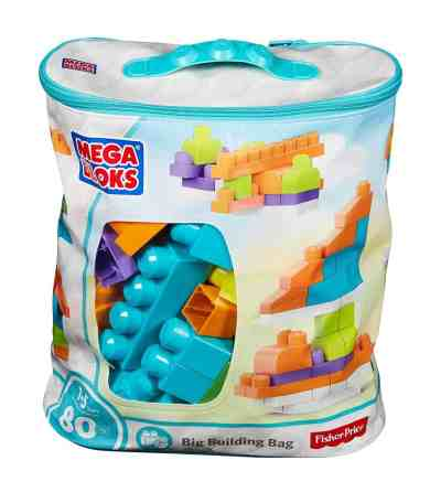 Amazon : PRIME DAY DEAL Big Building Bag (80 Piece) [Amazon Exclusive] Just $13.99 (Reg : $19.99) (As of 7/16/2019 10.20 PM CDT)