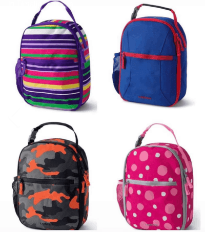 Kids Soft Sided Lunch Box Only $5 + Free Shipping! (Reg. Price $19.95)