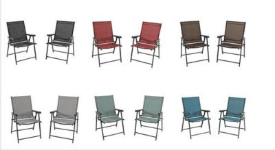 Kohl's : Folding Patio Bistro Chair 2-piece Set Just 47.99 W/Code (Reg $119.99)