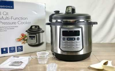 Insignia 8-Qt Multi-Function Pressure Cooker JUST $39.99 (Regularly $120) – Today Only!