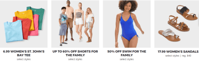 JC Penney : JCPenney Coupon : Extra 60% Off $100+ Order (ENDS 7/10)