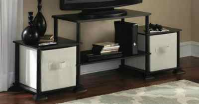 Mainstays Entertainment Center Only $9.77 at Walmart (Regularly $30) – No Tools Needed