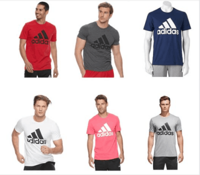 Kohl's : Men's adidas Classic Tee Just As Low As $14 (Reg : $25)