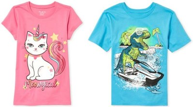 The Children's Place Graphic Tees Just $1.99 + FREE Shipping (Reg : $10.50)