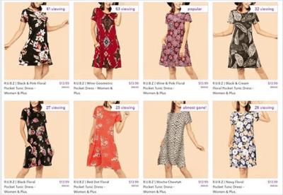 Zulily : SALE‼️ $13.99 (Reg $60) Tunic Dress