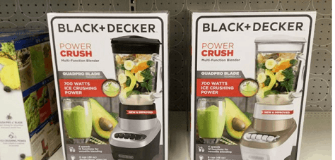 Black + Decker Power Crush Blender for ONLY $12.49 at JCPenney (Regularly $49)
