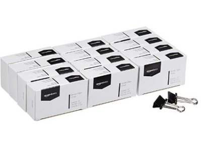 12 Pack AmazonBasics Binder Paper Clip – Small for $4.99 Shipped! (Reg. Price $9.99)
