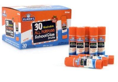 30 Count Elmer's All Purpose School Glue Sticks for $8.88 Shipped! (Reg. Price $14.99)