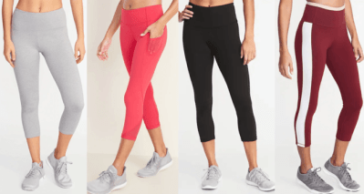 Old Navy Women's & Girls Active Leggings JUST $10 (Reg $35) – Today & Online Only!