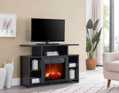 SALE! $109.37 (Reg $349.00) Bold Flame Acadia Fireplace TV Stand